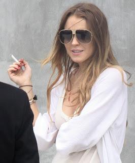 Shocking Celebrity Smokers