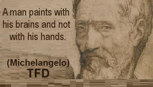 michelangelo quotes  quotesgram