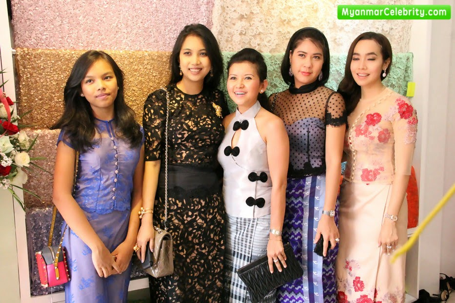 Moe hay ko launch fabric house in yangon myanmar celebrity news