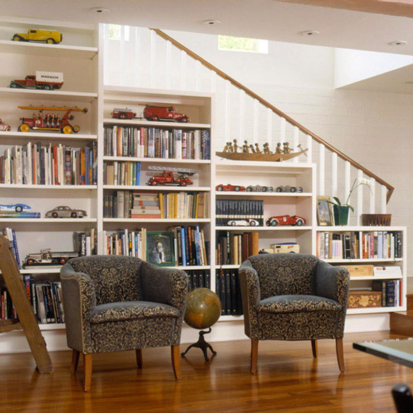 Contemporary Home Library Ideas