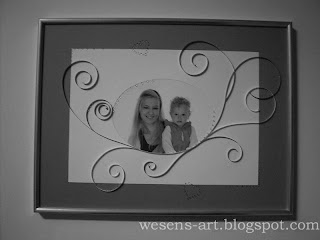 Frame with Quilling 2   wesens-art.blogspot.com