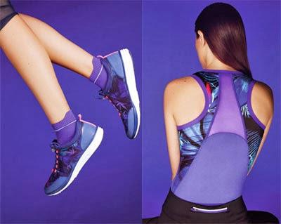 Oysho ropa deportiva primavera verano 2014 camiseta olímpica zapatillas deportivas