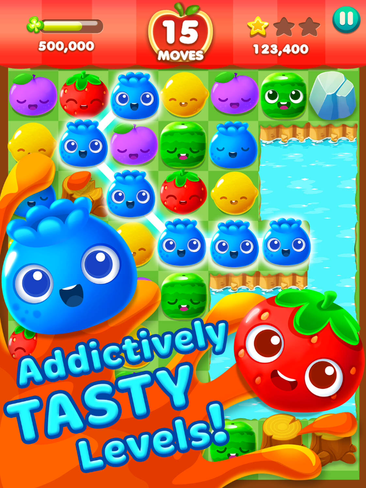Fruit Splash Mania App iTunes App By TeamLava - FreeApps.ws