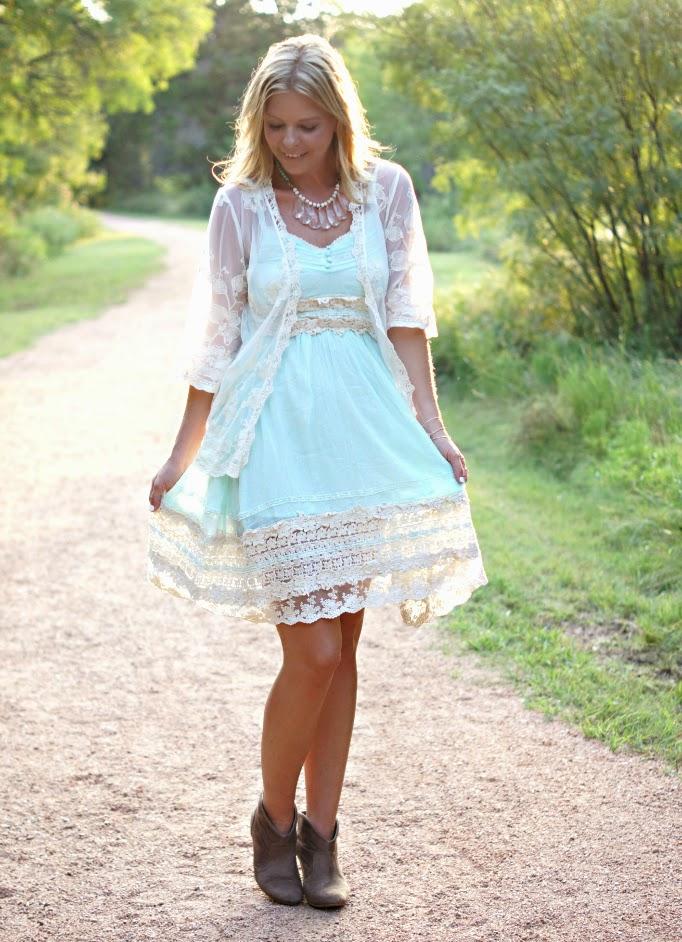 lacey boho Summer Style
