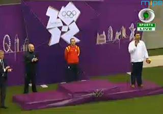 Gagan narang wins bronze medal-Ceremony photo
