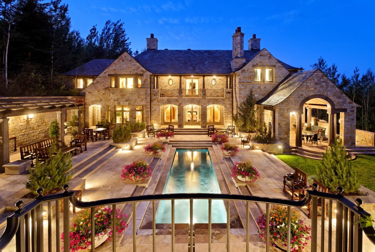 Luxury french country house plans for French luxury homes