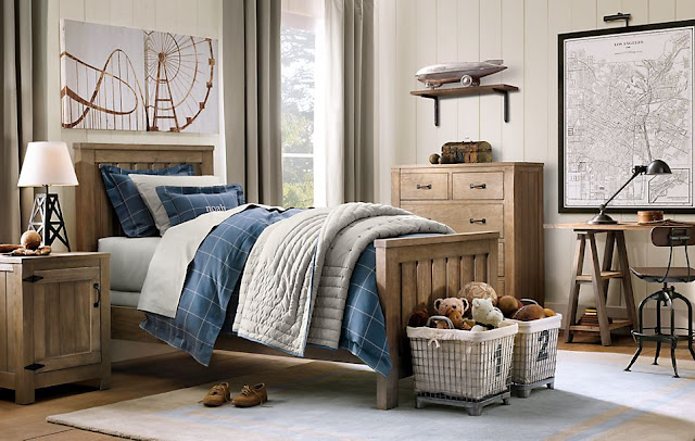 Dormitorios juveniles para varones estilo industrial - Disenar habitacion juvenil ...