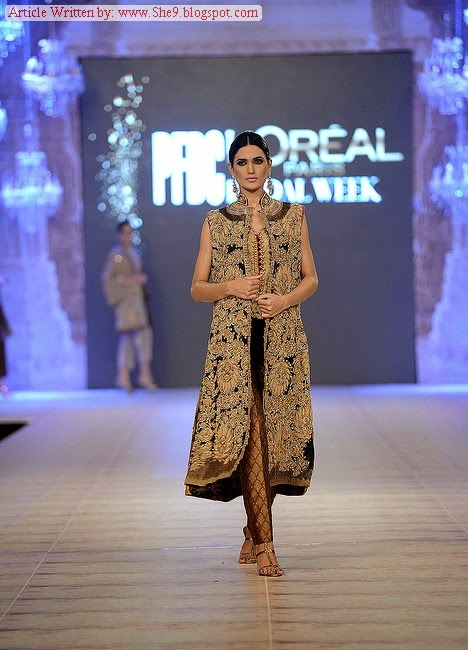 Shamaeel Ansari Bridal Collection at PFDC