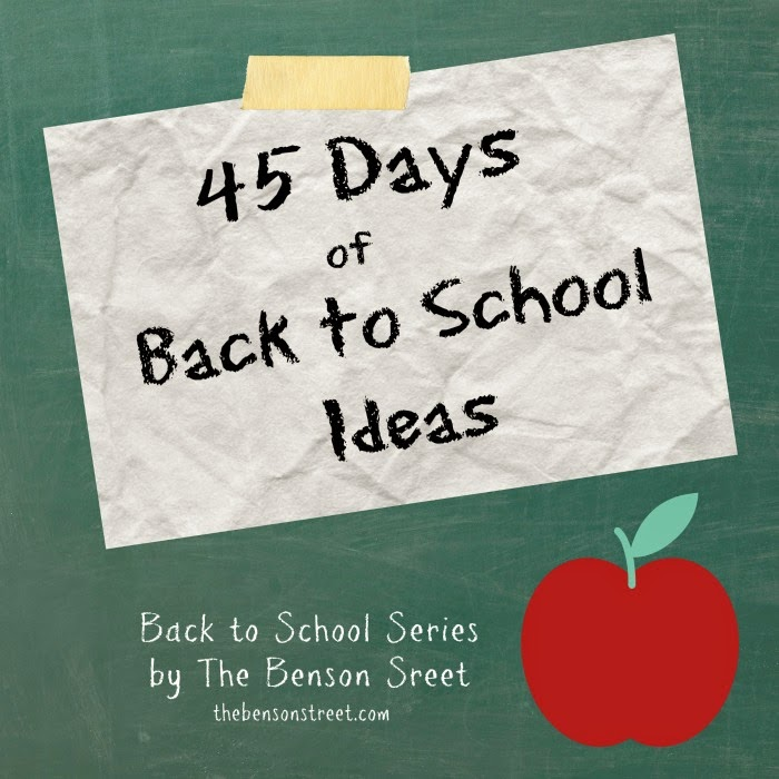 Back To school Series at The Benson Street