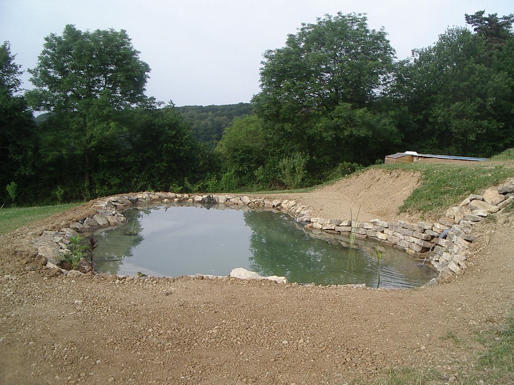 hervier paysages: bassin et aménagement d'une cascade
