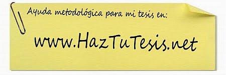 HazTuTesis.net || Guía práctica para el diseño, estructura y contenido de tu Tesis