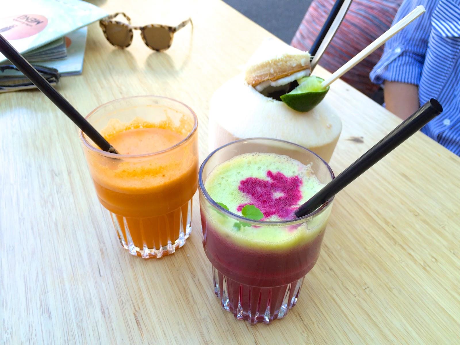 CT Coffee & Coconuts juice