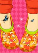 Крокодиловые туфли - Онлайн игра для девочек