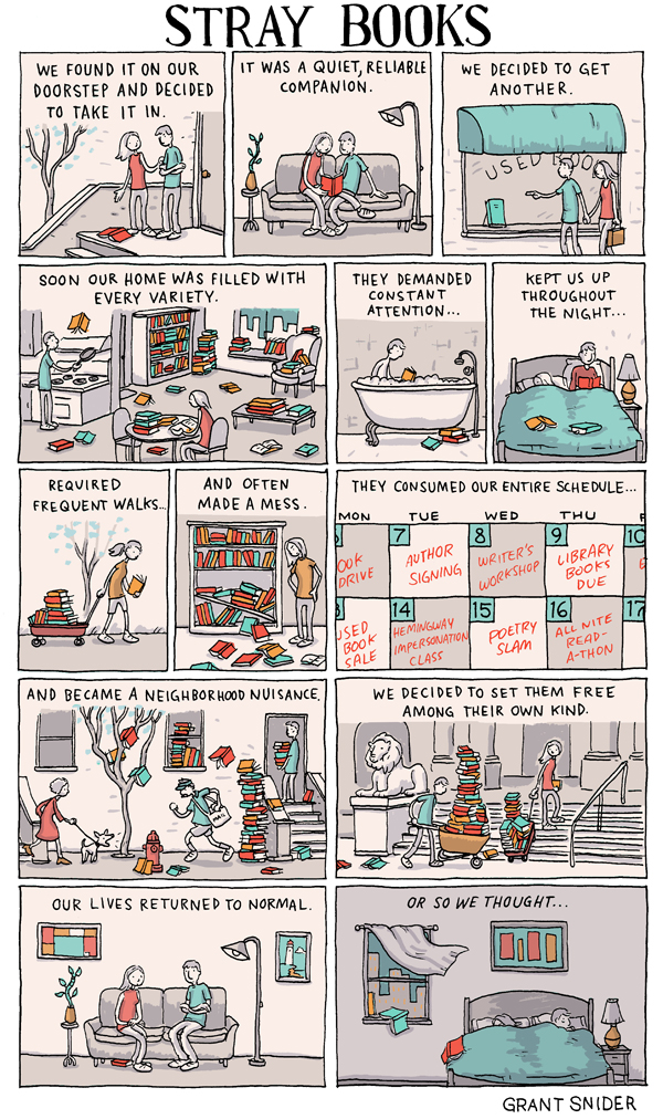 Stray Books from Grant Snider