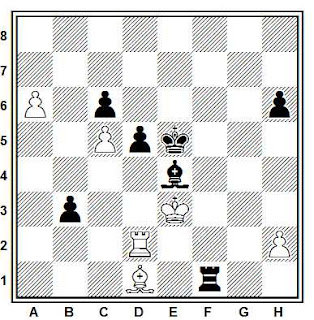 Problema ejercicio de ajedrez número 713: Kribonosov - Domuls (Letonia, 1978)