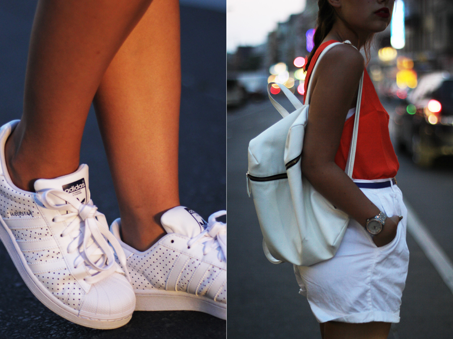 FASHION DETAIL BACKPACK SHOES