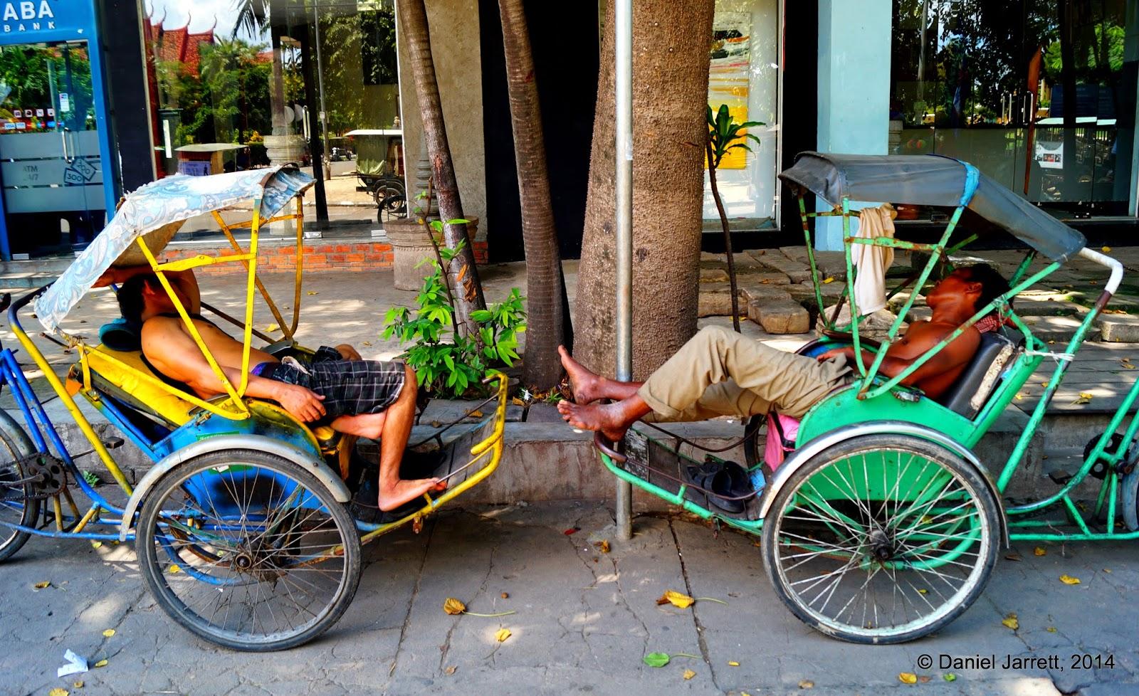 Nap time, Phnom Penh, Cambodia