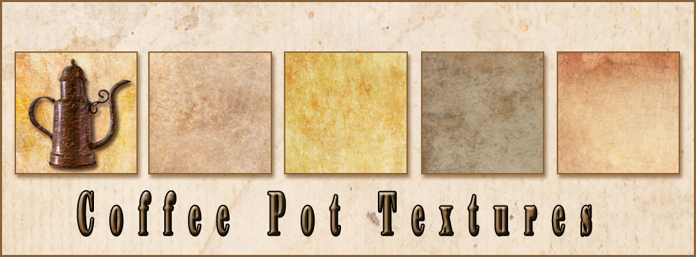 Coffee Pot Textures
