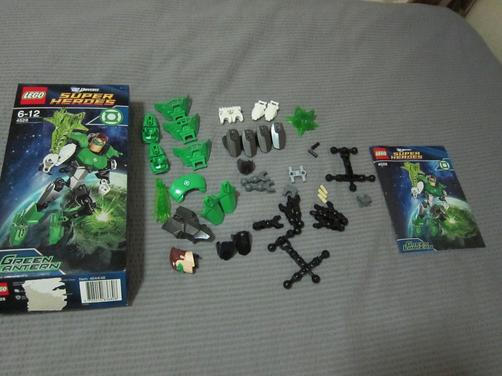 a walk by yau lego dc universe super heroes green lantern