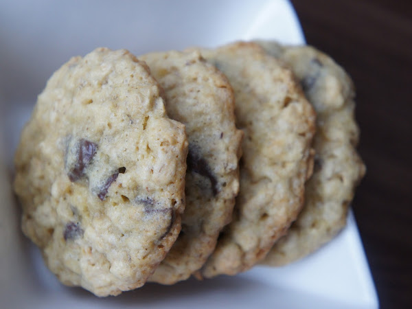 REZEPT: Chocoloate Chip Cookies mit Haferflocken