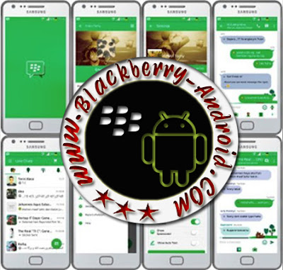 BBM Mod Material Tema Line Messenger v2.9.0.51 + BackUp Free Sticker