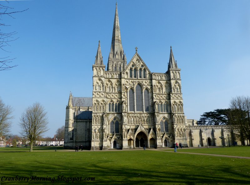 Salisbury b and b cathedral