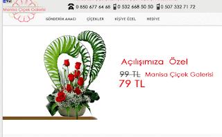 Manisa'daki Çiçekçiniz