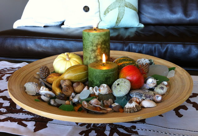 Carons Autumn Candlelight Centerpiece
