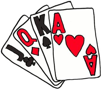 Cartoon gambling