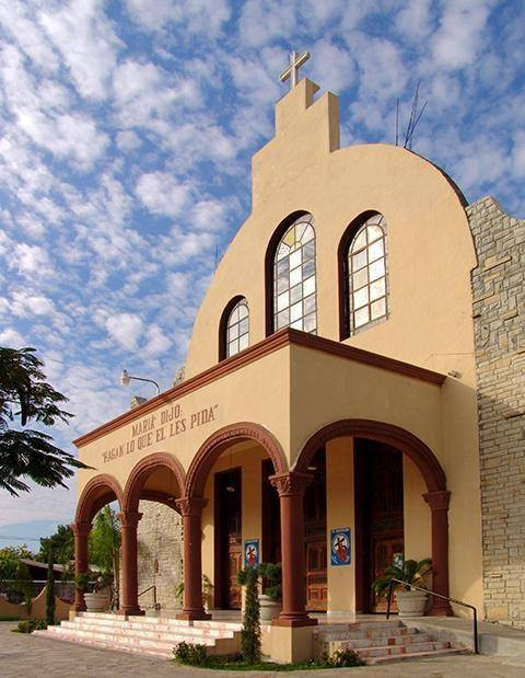Iglesia Guadalupe Sabinas Hidalgo