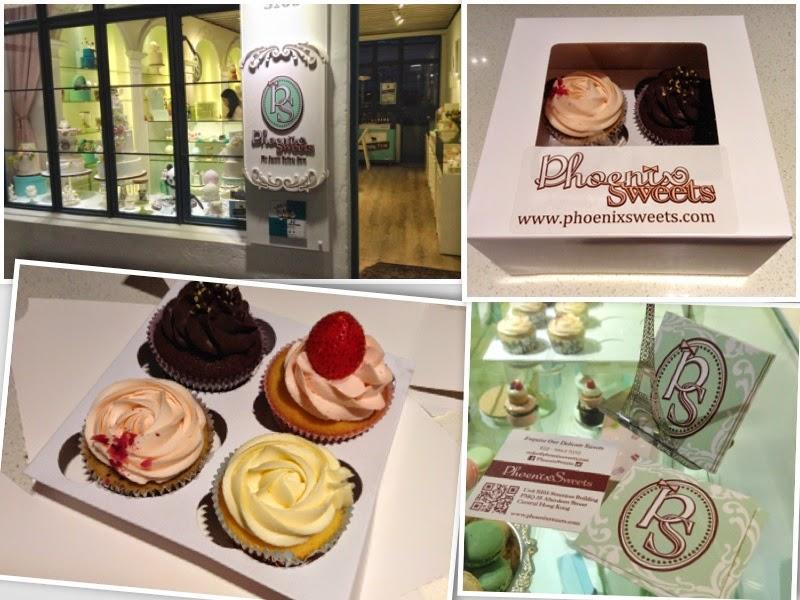 >> 心機 Cupcakes*Phoenix Sweets, PMQ