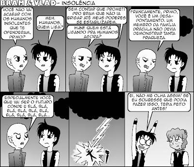 Nosferatu Jr. é bem cheio de marra pra alguém que torra ao menor contato dos raios de sol.