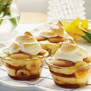 Caramelized Banana Pudding -> Recipe In Article