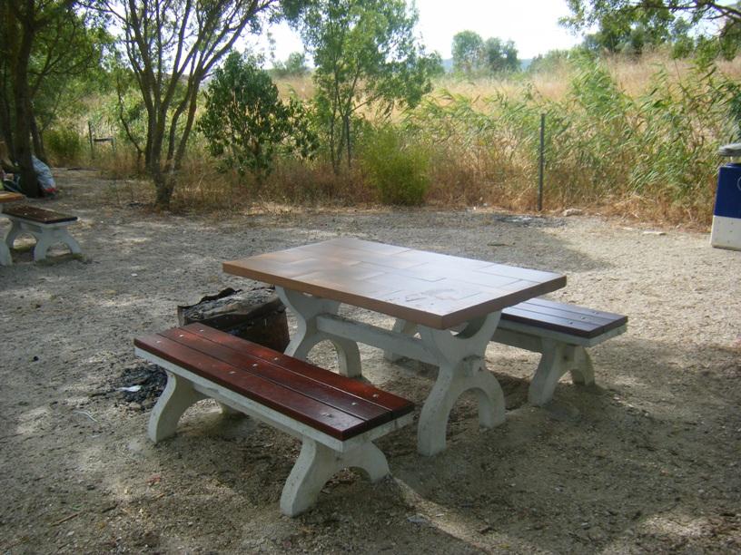Mesas de piquenique