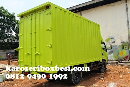 Karoseri box besi pilihan tepat untuk truk Hino anda