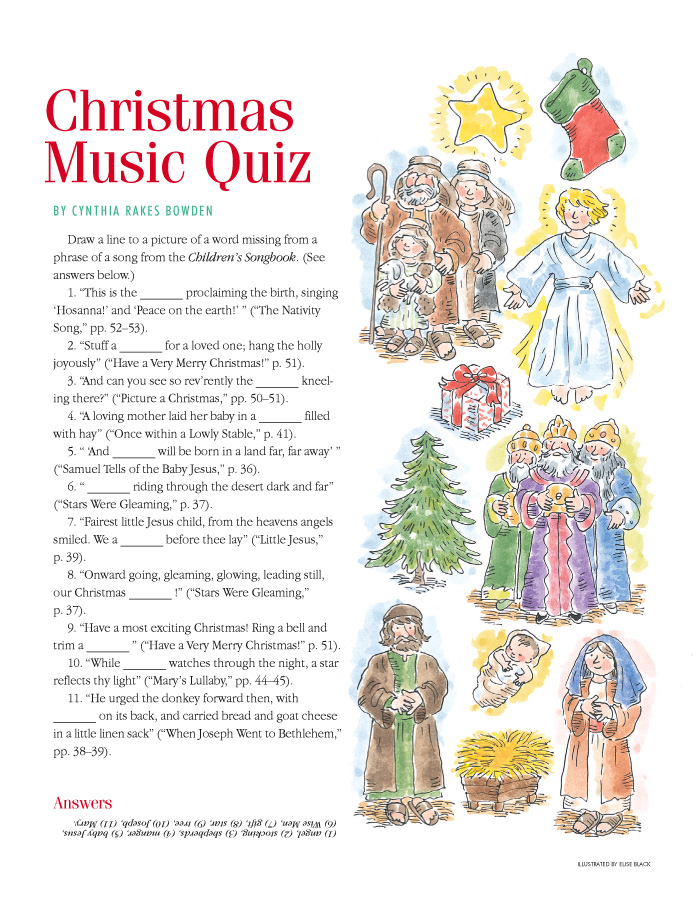 A Year of FHE: 15 Awesome Christmas Activities from the LDS Children's Friend