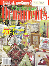 "The Sunflower Seed's ""A Star, A Star"" featured on the cover of ""2007 Just Cross Stitch"" Magazine"