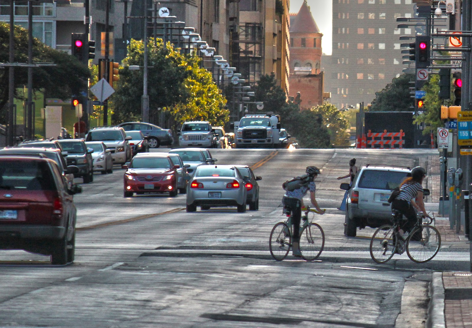 New Dallas Bike Lanes: New Rules Of The Road