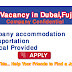 New Driver Vacancies in united Arab Emirates