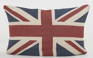 World Market S Union Jack Flag Lumbar Throw Pillow