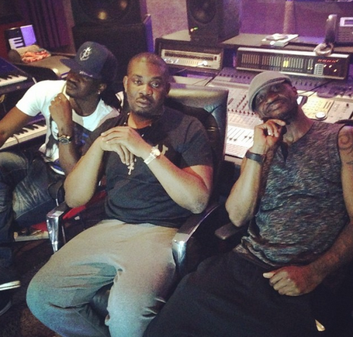 Psquare, Dan Jazzy in the Studio...What are They Up to? chiomaandy.com