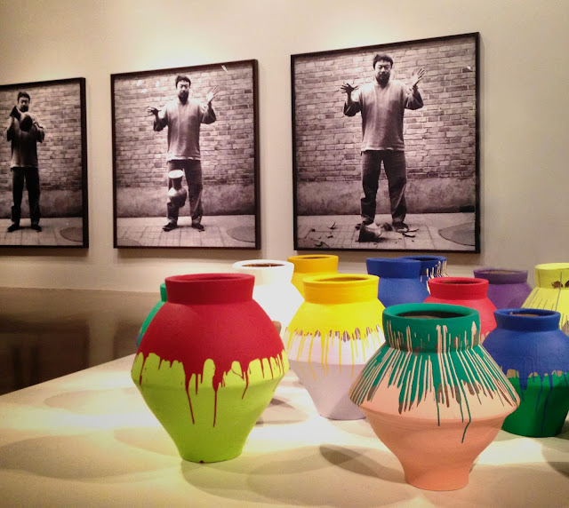 Ai Weiwei retrospective at the AGO including Dropping Han Dynasty Urn