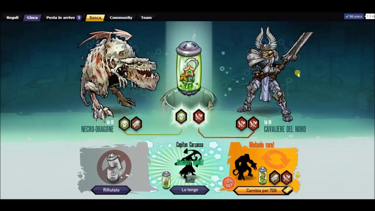 Mutants: Genetic Gladiators Breeding video N°5 (Nordic Knightmare - Undead Dragon)