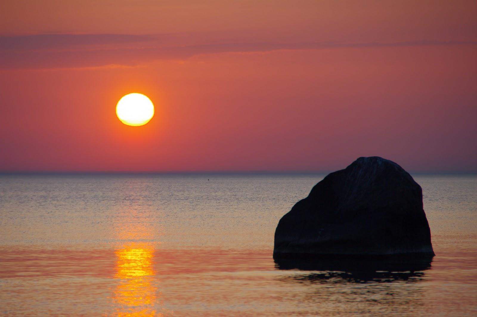 Kolga-Aabla loojang meri Kalev Vask sunset Eesti loodus Estonian nature Baltic sea