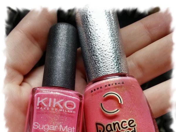 Kiko Sugar Mat 641 и Dance Legend 03