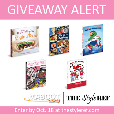 Giveaway Alert from The Style Ref and Mascot Books