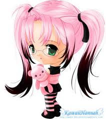 anime chibi girl