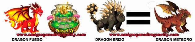 como obtener el dragon meteoro en dragon city formula 3