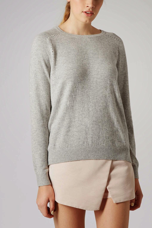 topshop grey jumper