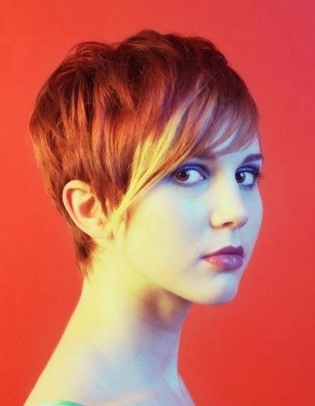 Foto Model  Rambut Emo Pendek